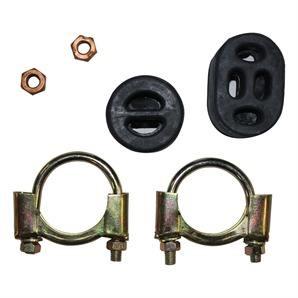 Montagesatz Mittel- Endschalldämpfer 257-163