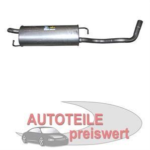 MTS Endschalldämpfer Seat Leon VW Golf 4 New Beetle 1,4 bei autoteile-preiswert kaufen