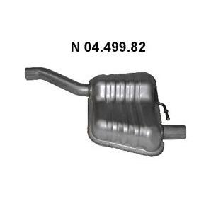 Eberspächer Endschalldämpfer Ford Focus 1,6 2,0