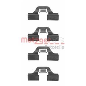 Metzger Montagesatz für Bremsbeläge hinten Alfa Romeo Audi Citroen Fiat Lancia Opel Peugeot