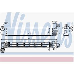 Nissens Ladeluftkühler Dacia Duster 1,5 dCi