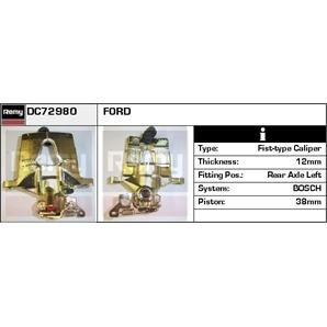 Bremssattel hinten links für Ford Mondeo III Turnier kaufen   Autoteile-Preiswert