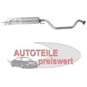 MTS Mittelschalldämpfer Opel Zafira 1,6 1,8 2,2 16V bei autoteile-preiswert kaufen