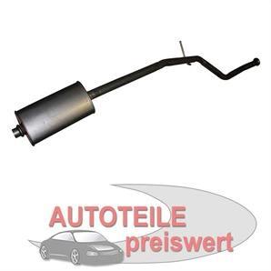 Mittelschalldämpfer Peugeot 206 bei autoteile-preiswert kaufen