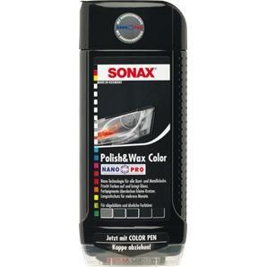 SONAX Polish & Wax Color NanoPro schwarz 500ml  kaufen - Autoteile-Preiswert