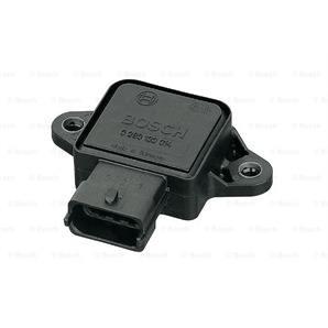 Bosch Sensor für Drosselklappenstellung für Hyundai Kia Nissan Opel Saab Volvo