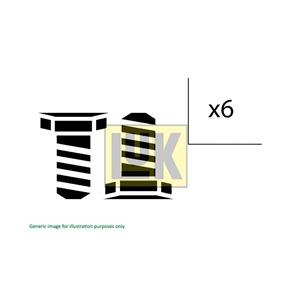 Luk Schraubensatz für Schwungrad Audi Ford Seat Skoda VW