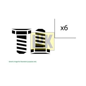 LUK Schraubensatz für Schwungrad Opel
