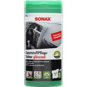 SONAX KunststoffPflegeTücher glänzend Box 25 Stück