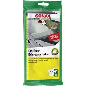 SONAX ScheibenReinigungsTücher 10 Stück