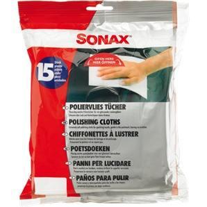 SONAX PolierVliesTücher 15 Stück