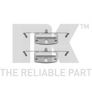 NK Zubehörsatz für Bremsbeläge vorne BMW 1er 3er 5er 6er 7er X1 Z4