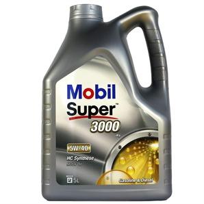 5 Liter Mobil Super 3000 X1 5W-40  Motoröl
