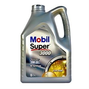 5 Liter Mobil Super 3000 Formula F 5W-20 Motoröl