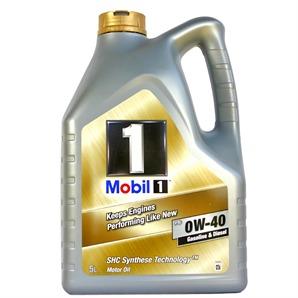 5 Liter Mobil FS 0W-40 Motoröl