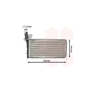 Heizungskühler VW Transporter T4 1,9 - 2,8 + D TD TDI VR6 Syncro