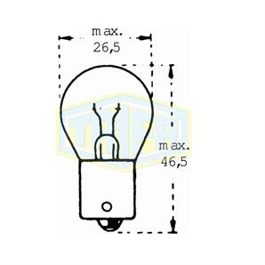 Auto-Lampe für 6V15WBA15 kaufen   Autoteile-Preiswert