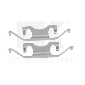 NK Zubehörsatz für Bremsbeläge hinten Mercedes-Benz CLS E GL M R S-Klasse
