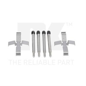 NK Zubehörsatz für Bremsbeläge hinten Volvo 240 260 740 760 780 850 940 960 C70 S70 V70
