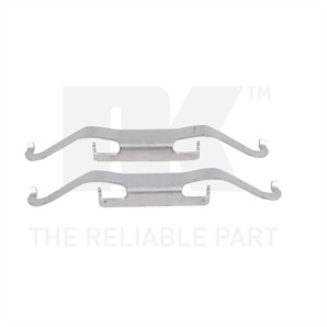 NK Zubehörsatz für Bremsbeläge vorne Alfa Romeo Citroen Fiat Lancia Opel VW