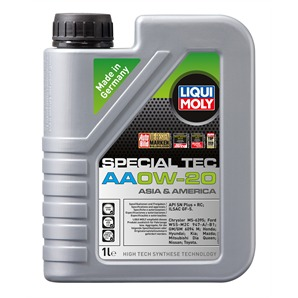 Liqui-Moly-Öl 0W-20 1 Liter Special Tec AA USA/Asia