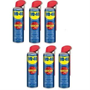 6x WD-40 Multiöl Klappdüse 500ml Spray