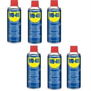 6x WD-40 WD-40 Multiöl Spray 400ml