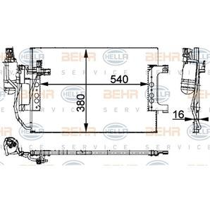 Hella Klimakondensator Mercedes A-Klasse kaufen - Autoteile-Preiswert