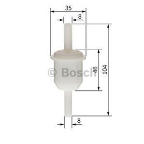 Bosch Kraftstofffilter Mercedes /8 100 190 S-Klasse T1/Tn