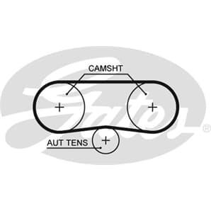 Gates Wasserpumpe + Zahnriemen für Seat Altea + XL Skoda Fabia 1 Roomster VW Golf 5 6 kaufen   Auto