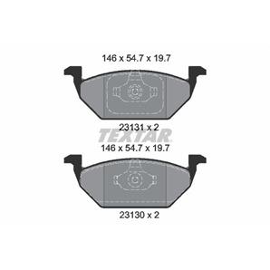 Textar Bremsbeläge vorne für Audi A1 A3 Seat Ibiza Skoda Fabia VW Golf Polo kaufen | Autoteile-Prei