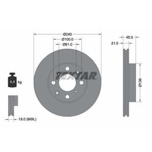 Textar Bremsbeläge hinten für VW Multivan Transporter T5 T6 1,9-3,2 TDI + TSI V6 kaufen   Autoteile