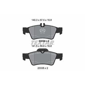 Textar Epad Bremsbeläge hinten Mercedes-Benz für Mercedes-Benz E S - Klasse + Kombi CLS SL SLK kauf