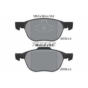 Textar Bremsbeläge vorne für Ford C-Max Focus Mazda 3 5 Volvo C30 C70 V40 V50 kaufen | Autoteile-Pr