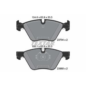 Textar Bremsbeläge vorne für BMW 3 + Touring Coupe Cabriolet X1 Z4 Teves-Bremse kaufen | Autoteile-