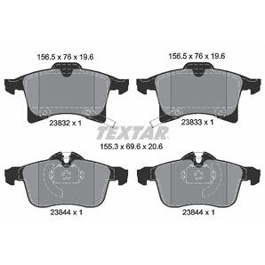 Textar Bremsbeläge vorne für Chevrolet Zafira Opel Astra G H Combo Corsa Meriva kaufen | Autoteile-
