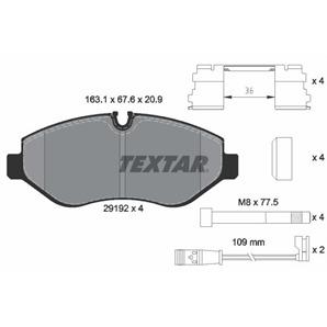 Textar Bremsbeläge vorne für Mercedes Viano Vito Sprinter VW Crafter 30-35-50 kaufen | Autoteile-Pr