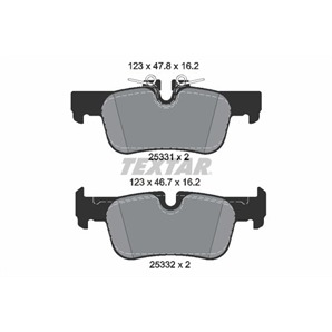 Textar Bremsbeläge hinten BMW 2er F45 F46 i3 X1 Mini F54 F60 bei Autoteile Preiswert