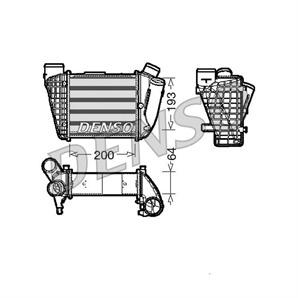 Denso Ladeluftkühler rechts Audi A4 B6 2,5 TDI bei Autoteile Preiswert