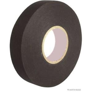 Elparts Isolierband schwarz Länge 25m Breits 19mm Polyestergewebe