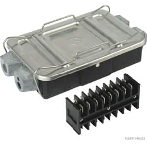 Elparts Kabelverbindungsdose 8-polig Gehäuse mit Aluminium-Deckel