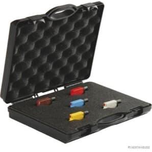Elparts Sortiment Sicherungsautomat für Mini-Flachstecksicherung Handbetätigung
