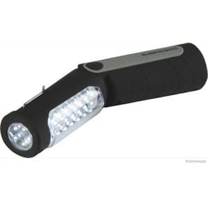Elparts LED Handleuchte mit Magnetbefestigung mit Haken mit Stecker für Zigarettenanzünder