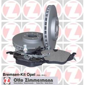 Zimmermann Bremsensatz vorne Opel Astra Corsa Vectra
