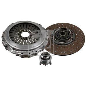 Febi Türgriff links mit Zylinder und Schlüssel VW