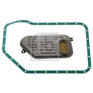 Febi Hydraulikfilter + Ölwannendichtung Automatik Audi Porsche Skoda VW