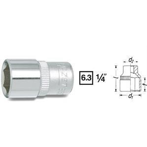 Hazet 1/4 Zoll 6-Kant Stecknuss 6 mm