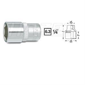 Hazet Steckschlüssel-Einsatz Sechskant 1/4 Zoll 6-Kant 9 mm