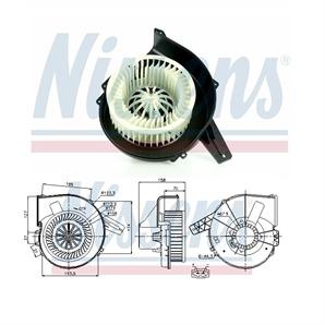 Nissens Elektromotor für Innenraumgebläse