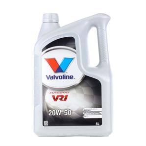 5 Liter Valvoline 20W-50 VR1 Racing